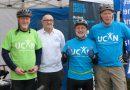 KT Bike ride at Alford Awareness Day