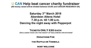 U CAN Help beat cancer charity fundraiser