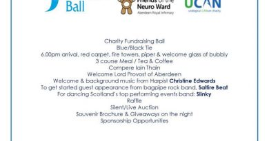 Fundraising event: Blue Thistle Ball