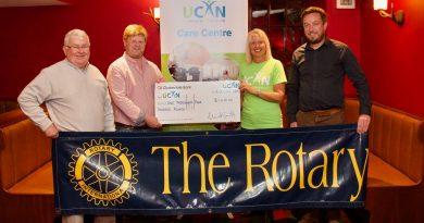 Thank You: Ellon Rotary Associate Club